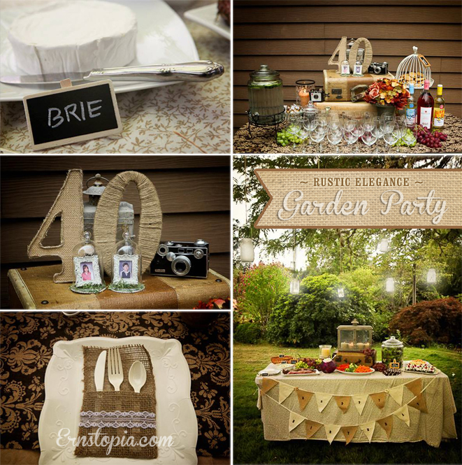 Rustic Elegance-Garden Party