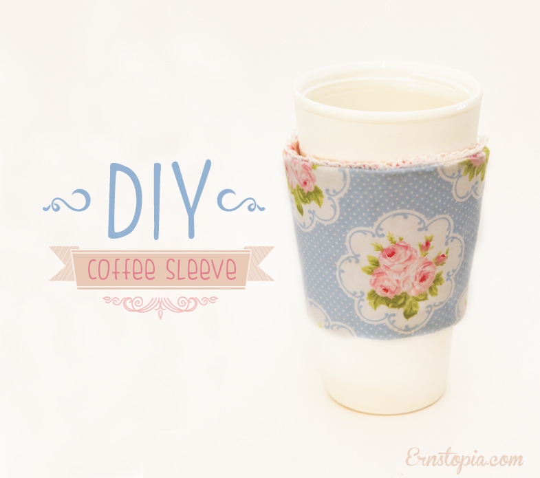 DIY Coffee Sleeve Tutorial