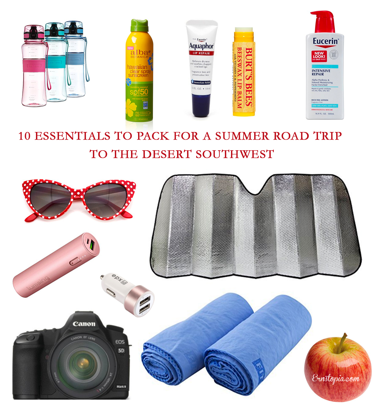 10 Essentials to pack for a summer road trip to the desert southwest