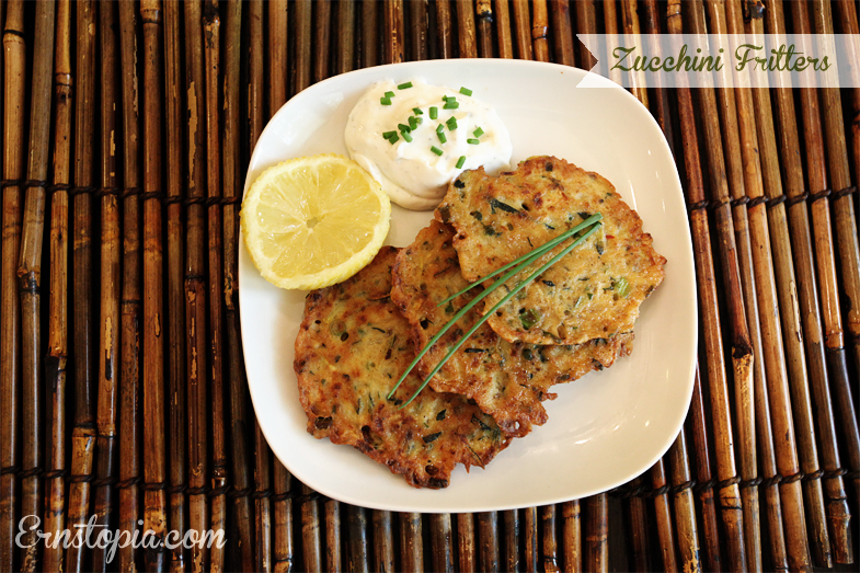 Zucchini Fritters are perfect for those times when you have way too much Zucchini on your hands!