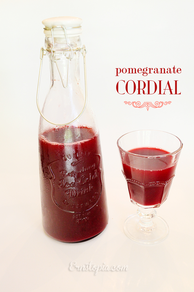 Pomegranate Cordial Recipe