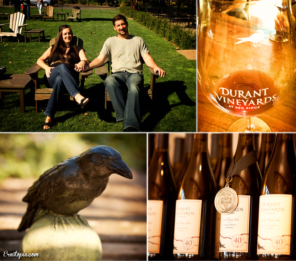 Durant Vineyards Fall Wine Tour