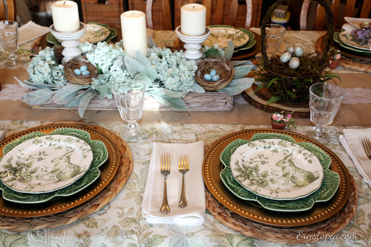 Create a beautiful spring table for your next Easter celebration.