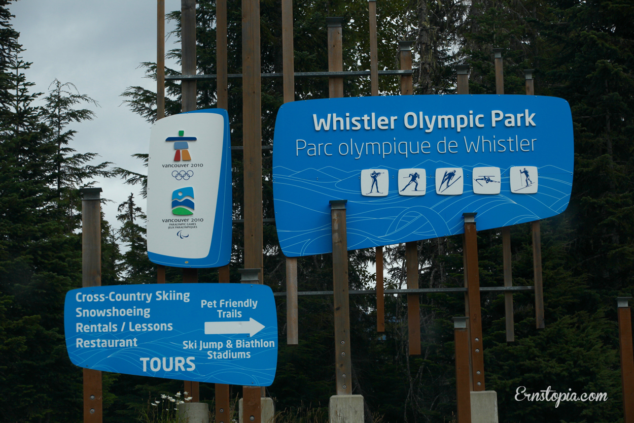 The Olympic Park in Whistler