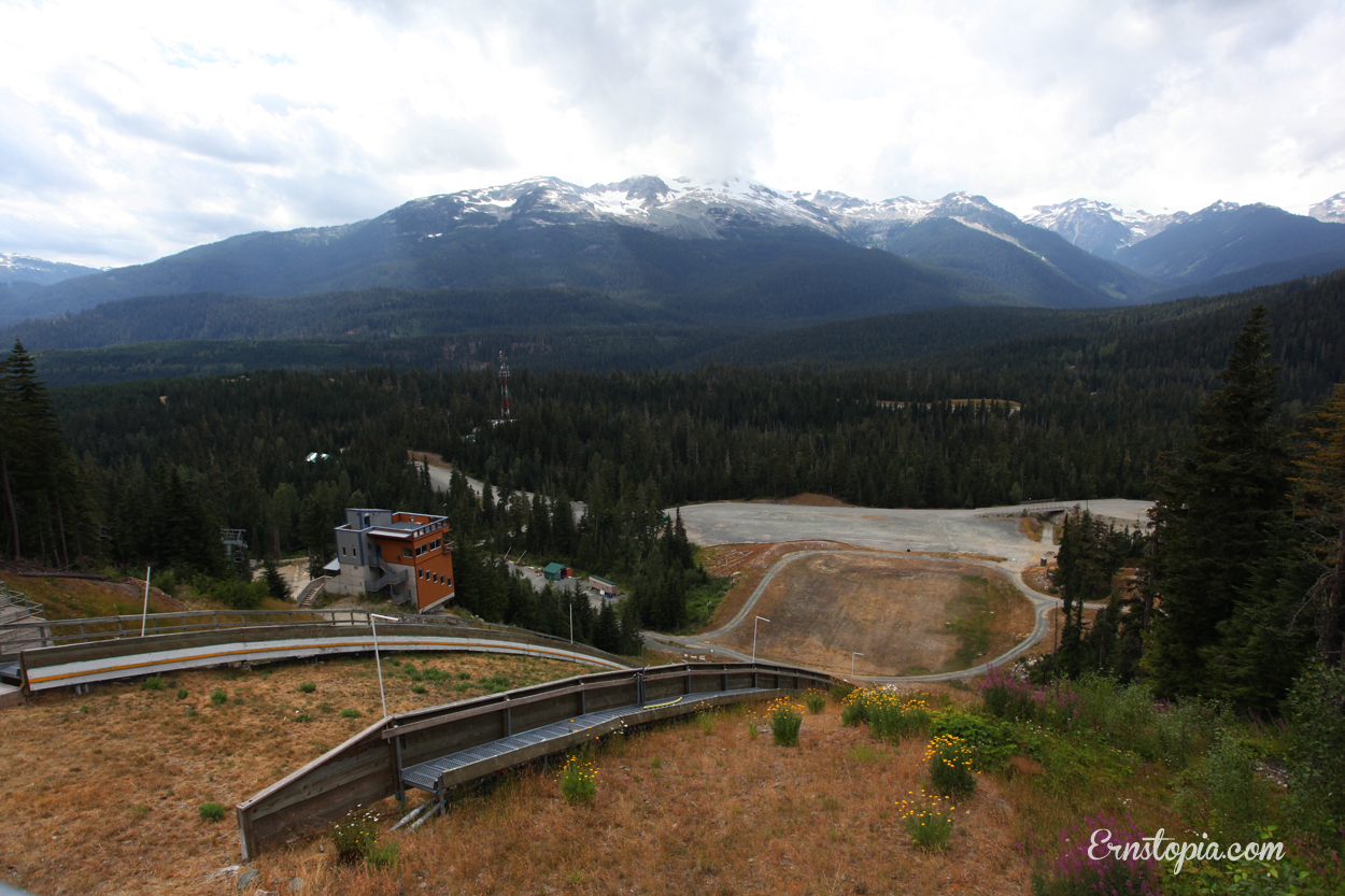 Biathalon Shooting Range at the Olympic Park in Whistler