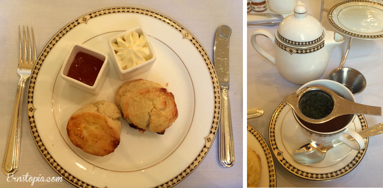 Afternoon tea at the Georgian in Seattle